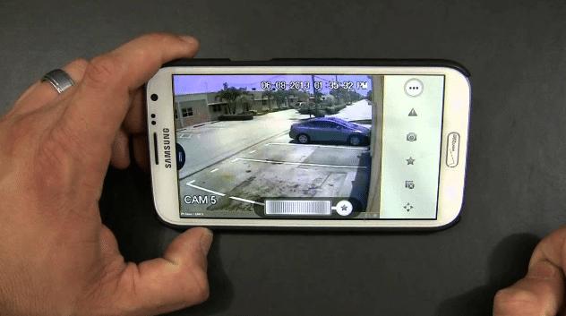 güvenlik kamerası cepten izleme servisi